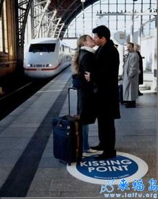 连接吻也有指定的地点,这就是文明!