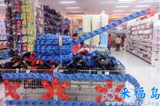 理货员姐姐,您呆在超市真是屈才了