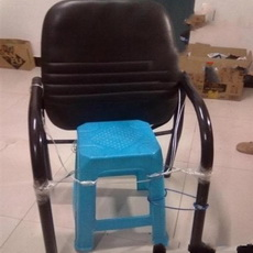 silla reparada