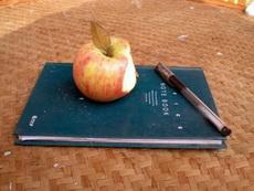 我的蘋果筆記本!高科技產品!