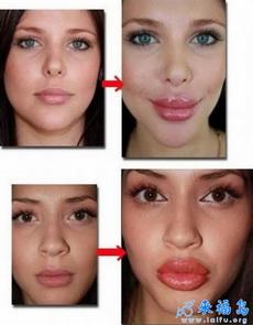 原来香肠嘴也是可以靠化妆化出来的
