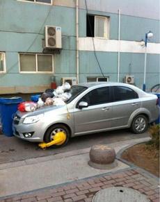 在小区里占道停车的后果