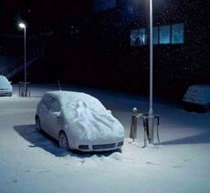 Lynx (Axe): Snow angel car