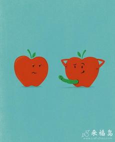 苹果也分雄性雌性的