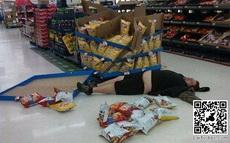 童年的梦想就是在超市吃到吐