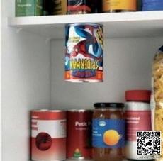 果然是蜘蛛侠的罐子