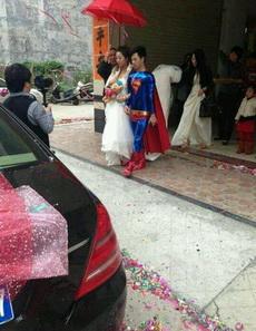 超人终于也结婚了
