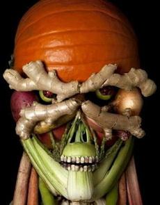 蔬菜居然也做的如此恐怖!