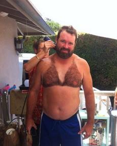 哦,刮毛刮得好性感啊!