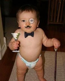 看我像不像一个绅士