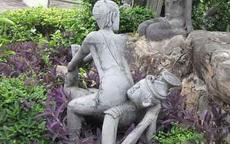 现在的雕像越来越没有节操了!