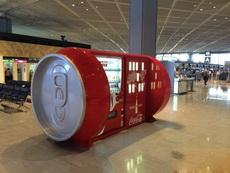 这可乐贩卖机造型太有才了!