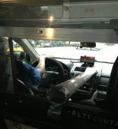 好体贴的出租车司机