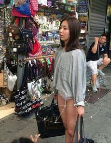 美女的新裙子,只有聪明人的人才看得到。