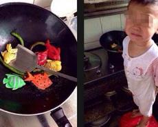 妈妈说,炒的小鱼不好吃!