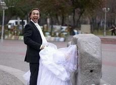 毫无节操的婚纱照