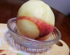 论桃子的标准剥法