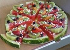 夏天了来份西瓜披萨吧~