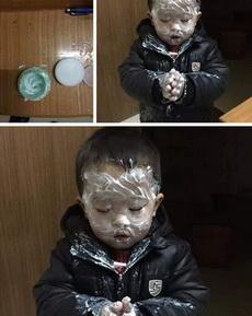 小孩的护肤意识还蛮强的