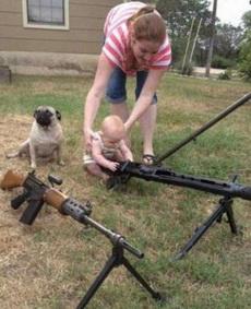 战斗民族的孩子从小玩的就是不一样的