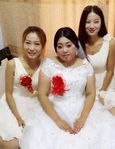看到比自己还漂亮的伴娘,新娘是肯定高兴不起来了