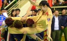 越南警官大学女警拳术表演