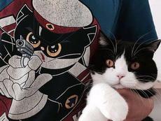 养了一只黑猫警长