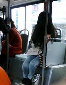 上公交车一抬头吓死劳资了