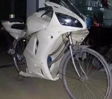 摩托车不过是要一种拉风的感觉而已
