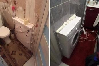 鬼才怎么安裝洗衣機的