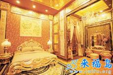 真正的金屋藏娇 3吨足金建造的奢侈黄金屋