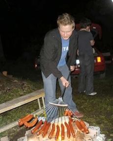 烧烤专用鱼叉