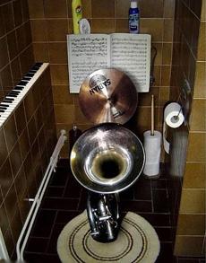 音乐家的卫生间