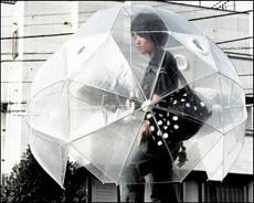 封闭式雨伞