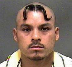 forehead moustache