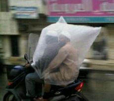 New raincoat
