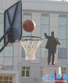 孙中山打篮球的照片