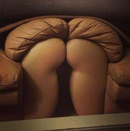 像屁股的沙发