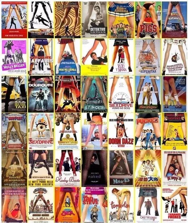 好莱坞宣传海报的风格