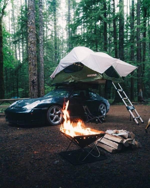 難道是為了帳篷里暖和一點